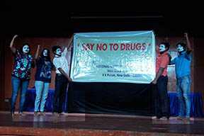 Sensitization programme on Drug Abuse Prevention at Amity University, Noida on 4th Aug,2016