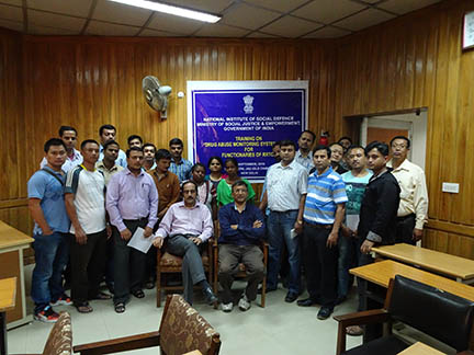 Training programme on Drug Abuse Monitoring System (DAMS) for RRTC functionaries