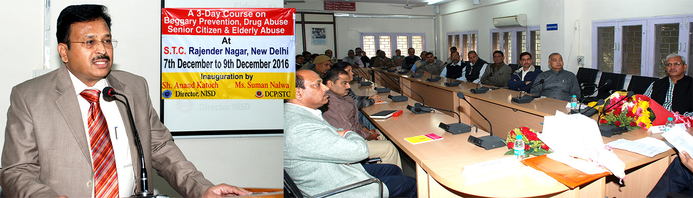 Three Day State Level Training Program on SocialDefence Issues for middle level Police functionaries