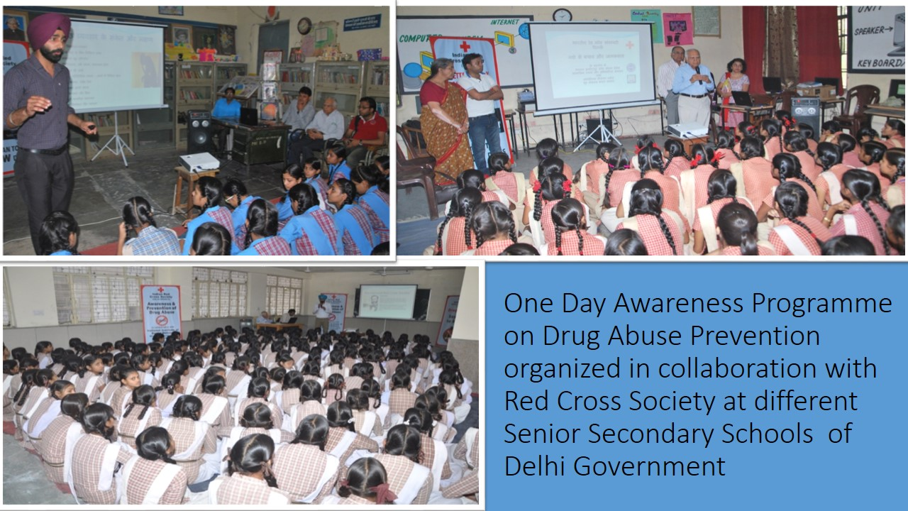 Awareness prog in Schools and Colleges of Delhi and UP by NISD