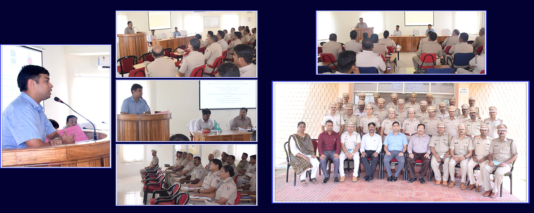 Three day State Level Training Programme on Social Defence Issues for Police functionaries -PTS Prot