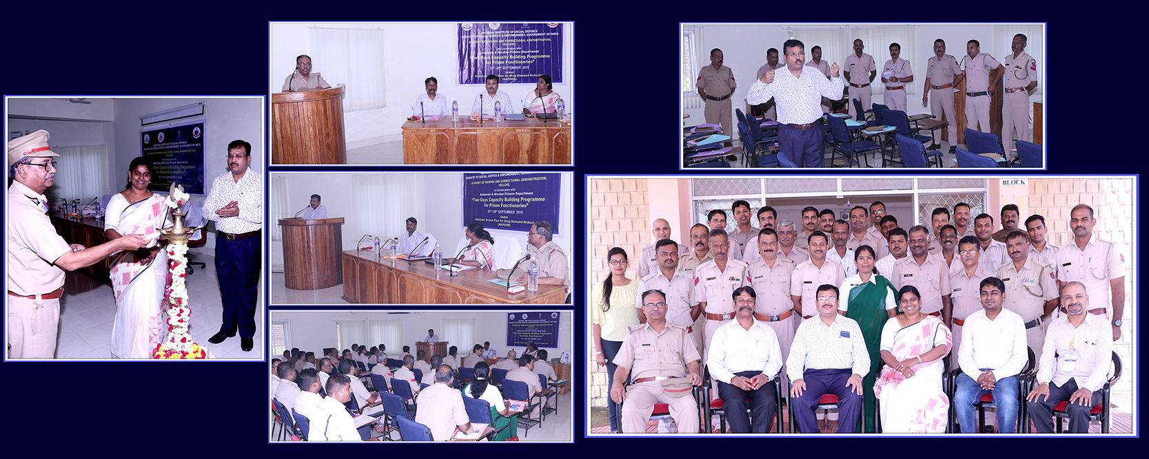 One day & Two day  Programme on Drug Abuse Prevention for Prison Functionaries & Prisoners-