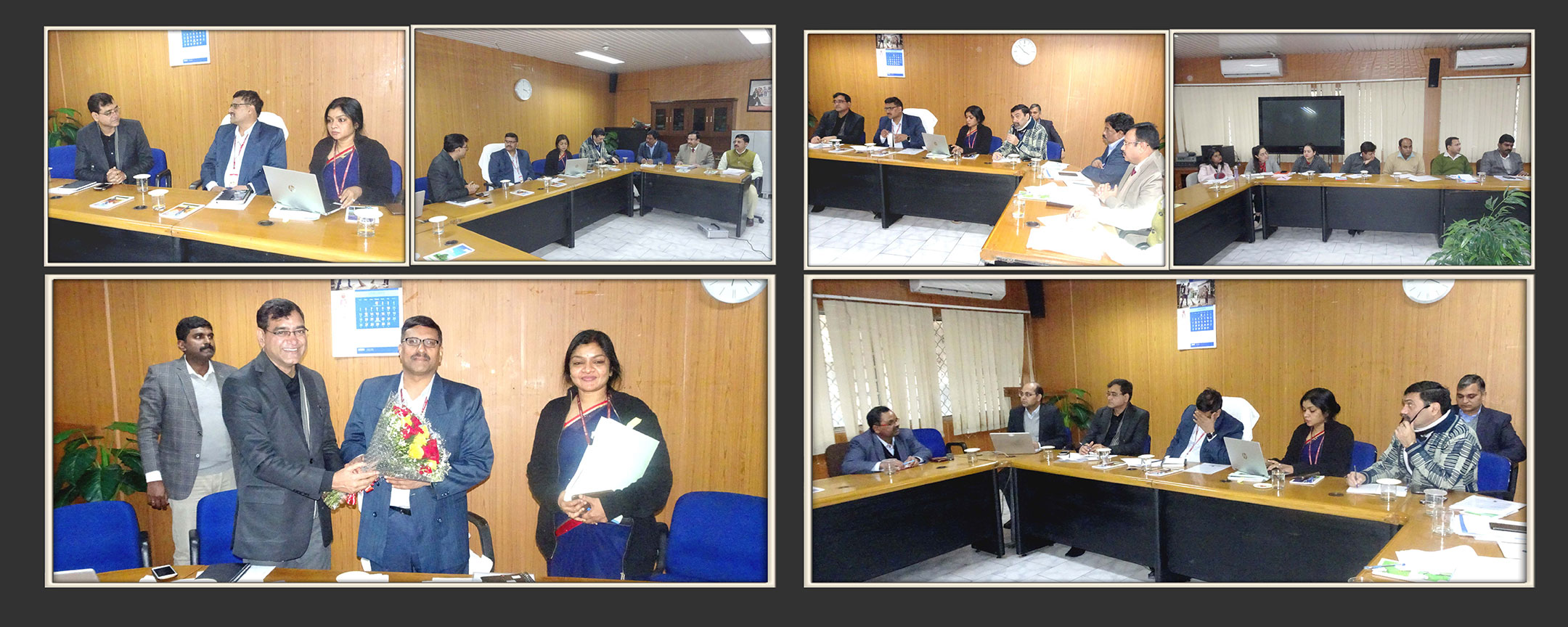 Hon. Secretary, Ministry of Social Justice & Empowerment, visits NISD office in RK Puram, Jan 10